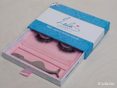 Adorable packaging to help you keep lashes safe when not being used