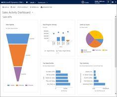 Microsoft Dynamics Screenshot