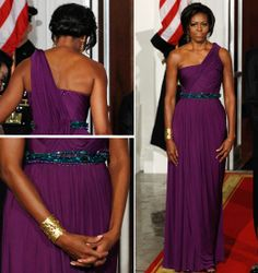 Michelle Obama's 50th Birthday: 15 Best Looks Ever | Visual Therapy | Doo Ri