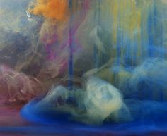 Kim Keever Photographs Unpredictable Abstract Displays of Color (11/14)