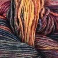 Malabrigo Silky Merino. Love this yarn.