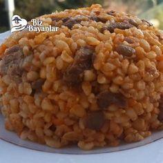 etli bulgur pilavi tarifi Slow Cooker, Salsa, Recipies, Beans, Vegetables, Food, Recipes With Rice, Bulgur, Recipes