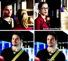 Arrow - Oliver and Felicity 3.9 TheClimb <3