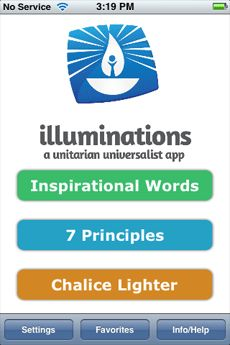 Illuminations: A UU App currently available for iPhones but Android is coming soon.
