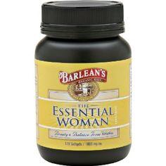 Органическое масло Barlean Essential для женщин, 120 Граф бутылки