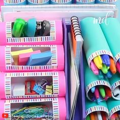 MINI ORGANIZER mit Rollen Toilettenpapier oder Küche – Fotoliste Diy Paper Crafts diy crafts out of toilet paper rolls Diy Crafts Hacks, Diy Crafts For Gifts, Diy Home Crafts, Diy Crafts Videos, Creative Crafts, Diy Videos, Cool Paper Crafts, Paper Crafts Origami, Wood Crafts
