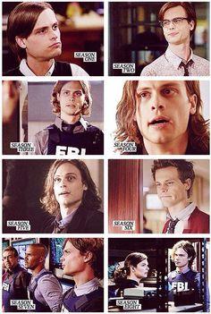 Hairstyles of Dr. Reid