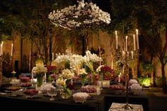Arranjos de Flores (Casamento).