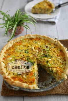 Quiche Tuna dan Brokoli