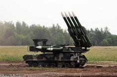 9K37 Buk M1 SA-11 Gadfly Self-Propelled Medium-Range Surface-to-Air Missile (Russia)
