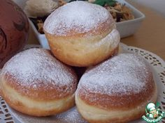 Польские пончики Paczki ингредиенты