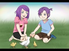 Lil ducklings by RamonaChan