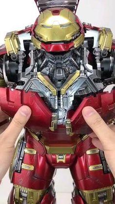 removable Hulkbuster toy 😍 #toys #toyou #ironmantoys #toystore #marvel #crazytoy #ironmansuit #mk44 #marveledit #fyp Real Iron Man, Iron Man Art, Man Wallpaper, Avengers Wallpaper, Marvel Heroes, Marvel Avengers, Iron Man Hulkbuster, Iron Man Helmet, Iron Man Avengers