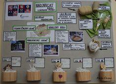Karlovarský kraj - Západočeský lázeňský trojúhelník School Projects, Bulletin Boards, Geography, Preschool, Gallery Wall, Teaching, Education, School, Projects