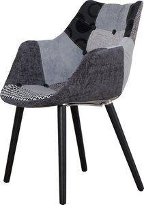 Hele leuke en goed zittende eetkamerstoel van het merk Zuiver. Ook heel geschikt als kleine fauteuil voor de zithoek.