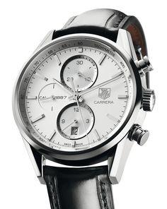 TAG Heuer   Carrera Calibre 1887   Steel   Watch database watchtime.com
