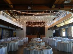 The Tivoli Turnhalle was a new venue at the beginning of 2015, but is now one of the most commonly visited. We have set up many patterns of the Bistro Lighting as well.