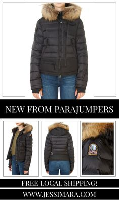 This is the 'Skimaster' Black Short Puffer Coat by stunning brand Parajumpers. Hooded down-filled ski jacket. The 20 den nylon-polyurethane taffeta is laminated. The jacket features contrasting yoke, hood, bottom, elbows and details. The drawstring hood has a detachable real fur trim. Multiple pockets include two small pockets on the sleeves. On the inside, the jacket has a zippered pocket and a powder skirt. Adjustable waist and bottom, as well as powder wrist gaiters.