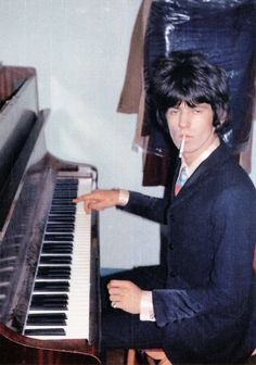 Keith Richards looking like he might be a little stoned