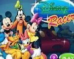 Em Disney Racers, entre em um super disputa com super carros e seus personagens favoritos. Escolha entre Mickey, Pateta, Minnie e Pato Donald. Use as suas habilidades para vencer a corrida e liberar novos circuitos. Mas tenha cuidado e não estrague muito seu carro, senão é game over. Divirta-se com Mickey e sua turma!