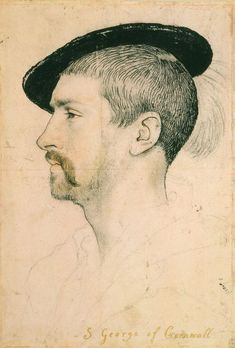 """""""Simon George of Cornwall"""" by Hans Holbein the Younger"""