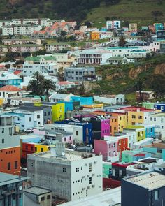 Bo-Kaap, rich in colour as it is in history. Love this shot by 👌👌👌 Stuff To Do, Things To Do, Farming S, Cape Town, Landscape Photography, Times Square, Shots, African, Explore