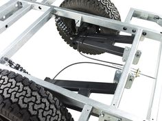 Chaser Adventure Trailer Chassis Suspension Detail