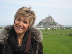 Véronique Jannot au Mont-Saint-Michel