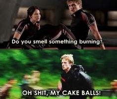 funny Hunger Games Peeta the-hunger-games... I've never even seen the hunger games but this made me laugh
