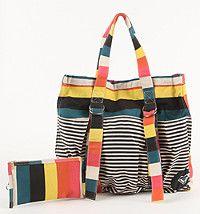 West Coast Striped Bag