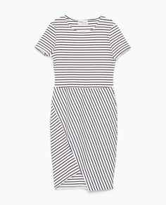 ZARA - TRF - STRIPED DRESS // purchased (for spring/summer capsule wardrobe)