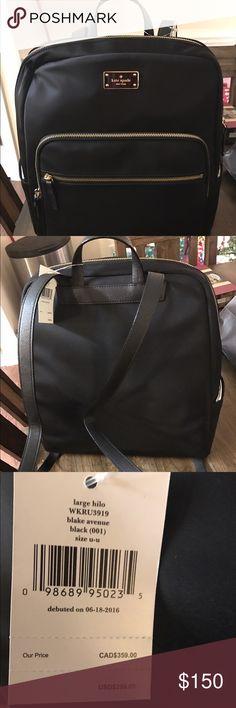 Kate Spade Book Bag This Is A Wonderful Black Has