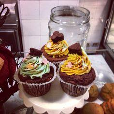 Cupcakes in California Bakery #milano #californiabakery