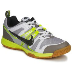 new styles de81d 0476f Nike Multicourt 10 Men - Gray Green Squash Shoes, Green And Grey, Handball