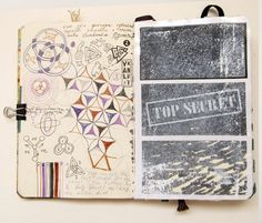 my moleskine by Anna Rusakova, via Behance