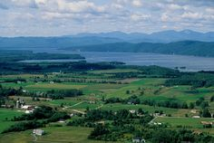 Mt Philo in the town of Charlotte offers spectacular views of the lake and picturesque countryside