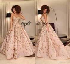 Ball Gown Evening Dresses 2018 Dubai Arabic Sweetheart Sparkly Crystal Appliques Satin Myriam Fares Blush Peach Celebrity Formal Prom Dress Mermaid Wedding Dress Long Sleeve Wedding Dresses Lace Wedding Dress Online with $189.72/Piece on Kazte's Store | DHgate.com