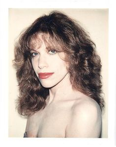Carly Simon. Warhol polaroid