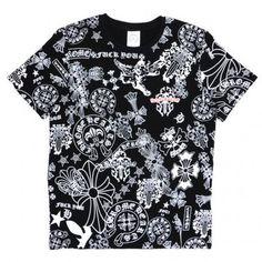 89be2436d844 Fashion Chrome Hearts Full Logo Limited T-shirt Sale Cheap