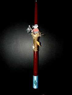 Easter candle pirate by pinelopiCreations on Etsy, $14.99
