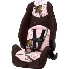 Cosco Highback 2-in-1 Booster Car Seat, Realtree Ap Pink, Multicolor