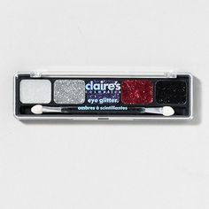 Get dramatic with the bold colors in this Eye Glitter Set