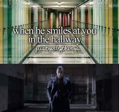 When he smile at you in the holloway. Till Lindemann better :)