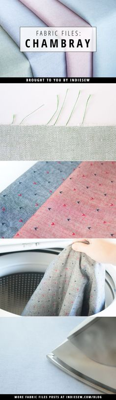 Find out why chambray is this season's most sought-after fabric in this installment of Fabric Files. | Indiesew.com