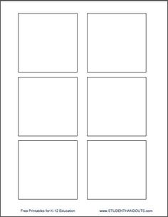 Blank Flash Card Templates Printable Flash Cards PDF Format - Printable note card template