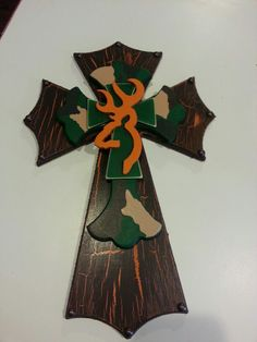 Camo cross Crosses by Lindsey