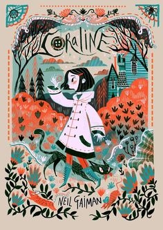 """BY CARL JAMES MOUNTFORD  """"Because,' she said, 'when you're scared but you still do it anyway, that's brave.""""  ― Neil Gaiman, Coraline"""