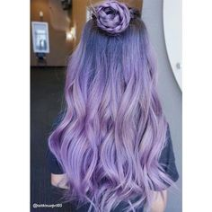 50 Lovely Purple & Lavender Hair Colors - Purple Hair Dyeing Tips |... ❤ liked on Polyvore featuring beauty products, haircare and hair color