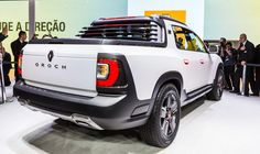 #Renault is set to unveil the #Duster #Oroch show car in a world premiere at the 28th Sao Paulo Motor Show in Brazil (October 30-November 9). Designed by the Renault design centre for Latin America (RDAL) in Sao Paulo, the Duster Oroch show car is a styling exercise for a recreational pick-up truck with enough room for five people and the robust stance of a true SUV. (c) OMG - Droits réservés
