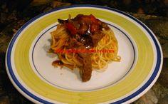 pasta thermomix, espaguetis 3 delicias thermomix, ternera thermomix, recetas thermomix